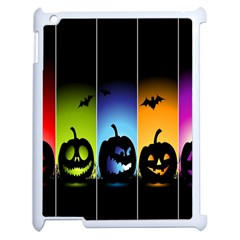 Hellowen Face Apple Ipad 2 Case (white) by AnjaniArt