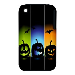 Hellowen Face Apple Iphone 3g/3gs Hardshell Case (pc+silicone) by AnjaniArt