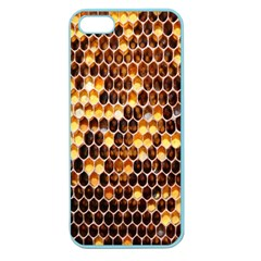 Honey Honeycomb Jpeg Apple Seamless Iphone 5 Case (color) by AnjaniArt