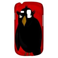 Halloween   Old Raven Samsung Galaxy S3 Mini I8190 Hardshell Case by Valentinaart