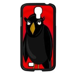 Halloween   Old Raven Samsung Galaxy S4 I9500/ I9505 Case (black) by Valentinaart