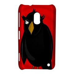 Halloween   Old Raven Nokia Lumia 620 by Valentinaart