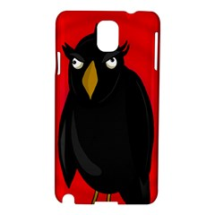Halloween   Old Raven Samsung Galaxy Note 3 N9005 Hardshell Case