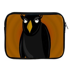 Halloween   Old Black Rawen Apple Ipad 2/3/4 Zipper Cases by Valentinaart