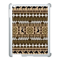 African Vector Pattern Apple iPad 3/4 Case (White) by Zeze