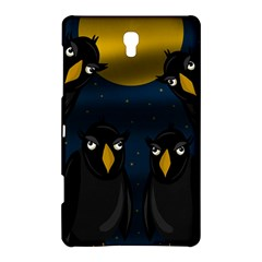 Halloween - black crow flock Samsung Galaxy Tab S (8.4 ) Hardshell Case  by Valentinaart