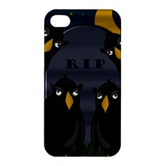 Halloween   Rip Apple Iphone 4/4s Hardshell Case by Valentinaart