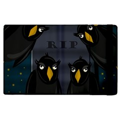 Halloween   Rip Apple Ipad 3/4 Flip Case by Valentinaart