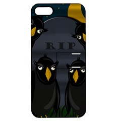 Halloween   Rip Apple Iphone 5 Hardshell Case With Stand by Valentinaart