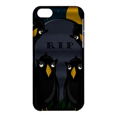 Halloween   Rip Apple Iphone 5c Hardshell Case by Valentinaart