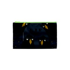 Halloween   Rip Cosmetic Bag (xs) by Valentinaart