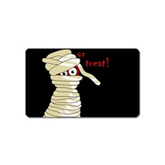 Halloween Mummy   Magnet (name Card) by Valentinaart