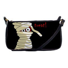 Halloween Mummy   Shoulder Clutch Bags by Valentinaart