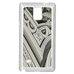 Arches Fractal Chaos Church Arch Samsung Galaxy Note 4 Case (White) by Zeze