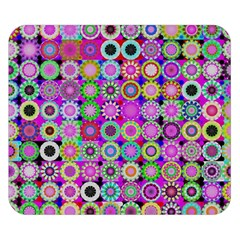Design Circles Circular Background Double Sided Flano Blanket (Small)  by Zeze