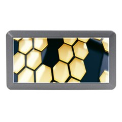 Honeycomb Yellow Rendering Ultra Memory Card Reader (mini) by AnjaniArt
