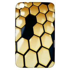 Honeycomb Yellow Rendering Ultra Samsung Galaxy Tab 3 (8 ) T3100 Hardshell Case  by AnjaniArt