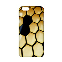 Honeycomb Yellow Rendering Ultra Apple Iphone 6/6s Hardshell Case by AnjaniArt