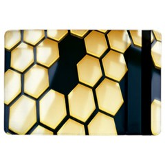 Honeycomb Yellow Rendering Ultra Ipad Air 2 Flip by AnjaniArt