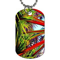Kostenloses Leaves Dog Tag (one Side) by AnjaniArt
