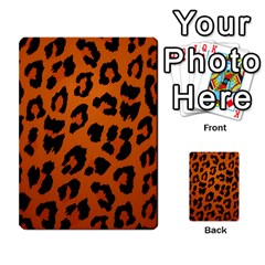 Leopard Patterns Multi Purpose Cards (rectangle)