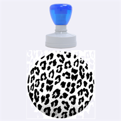 Leopard Patterns Rubber Round Stamps (large) by AnjaniArt
