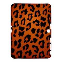 Leopard Patterns Samsung Galaxy Tab 4 (10.1 ) Hardshell Case  by AnjaniArt