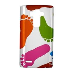Lip Handprint Lg G4 Hardshell Case by AnjaniArt
