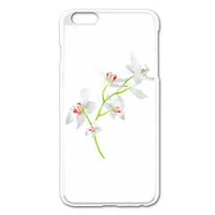 Isolated Orquideas Blossom Apple Iphone 6 Plus/6s Plus Enamel White Case by dflcprints