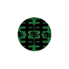 Show Me The Money Golf Ball Marker (4 Pack) by MRTACPANS