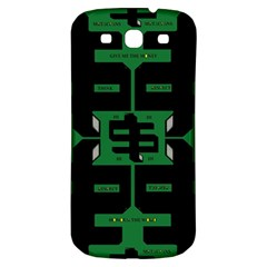 Show Me The Money Samsung Galaxy S3 S Iii Classic Hardshell Back Case by MRTACPANS