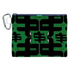 Show Me The Money Canvas Cosmetic Bag (xxl) by MRTACPANS