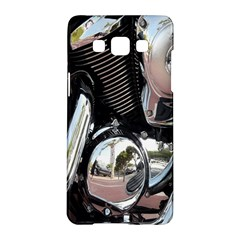 Motorcycle Chrome Technology Samsung Galaxy A5 Hardshell Case  by Zeze