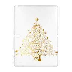 Starry Christmas Tree Holidays Samsung Galaxy Note 10.1 (P600) Hardshell Case by Zeze