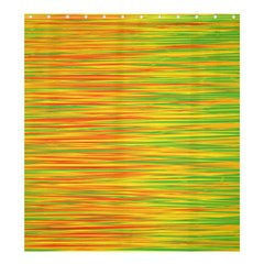 Green And Oragne Shower Curtain 66  X 72  (large)  by Valentinaart