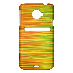 Green and oragne HTC Evo 4G LTE Hardshell Case