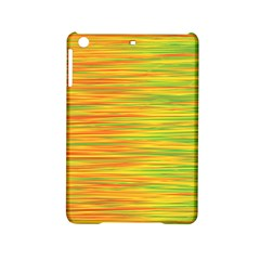 Green And Oragne Ipad Mini 2 Hardshell Cases by Valentinaart