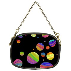 Colorful Galaxy Chain Purses (one Side)  by Valentinaart