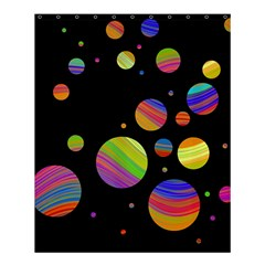 Colorful Galaxy Shower Curtain 60  X 72  (medium)  by Valentinaart