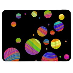 Colorful Galaxy Samsung Galaxy Tab 7  P1000 Flip Case by Valentinaart