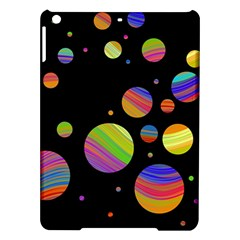 Colorful Galaxy Ipad Air Hardshell Cases by Valentinaart