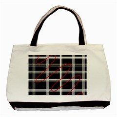 Not So Simple  Basic Tote Bag (two Sides) by Valentinaart