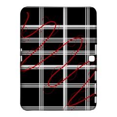 Not So Simple  Samsung Galaxy Tab 4 (10 1 ) Hardshell Case  by Valentinaart