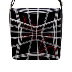 Not So Simple 2 Flap Messenger Bag (l)  by Valentinaart