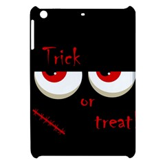Halloween  trick Or Treat    Monsters Red Eyes Apple Ipad Mini Hardshell Case by Valentinaart