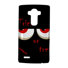 Halloween  trick Or Treat    Monsters Red Eyes Lg G4 Hardshell Case by Valentinaart