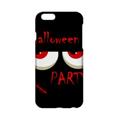Halloween Party   Red Eyes Monster Apple Iphone 6/6s Hardshell Case by Valentinaart
