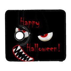 Happy Halloween   Red Eyes Monster Samsung Galaxy S  Iii Flip 360 Case by Valentinaart
