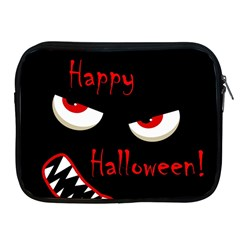 Happy Halloween   Red Eyes Monster Apple Ipad 2/3/4 Zipper Cases by Valentinaart
