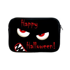 Happy Halloween   Red Eyes Monster Apple Ipad Mini Zipper Cases by Valentinaart